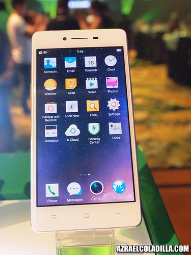 OPPO R7 launching in Manila