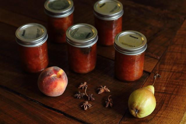 Peach & Pear Chutney