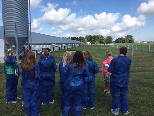 PLSC 167 Poultry Field Trip 2015