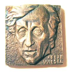 Elie Wiesel medal obverse