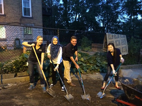2015 Homecoming: Oakland Community Service Project Gallery