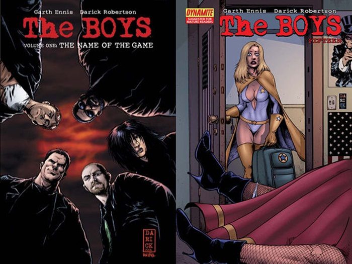 The Boys comics