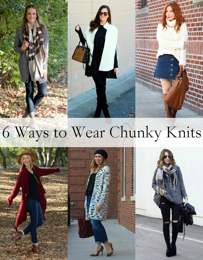 6 Ways to Wear Chunky Knits