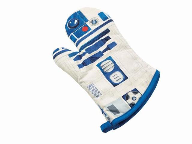 Underground Toys 星際大戰系列【高智能R2-D2 隔熱手套】I Am R2-D2 Oven Gloves