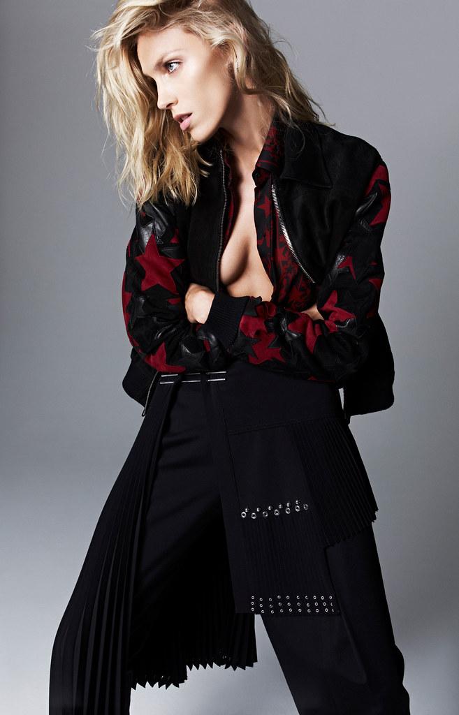 Аня Рубик — Фотосессия для «Trendy» 2015 – 3