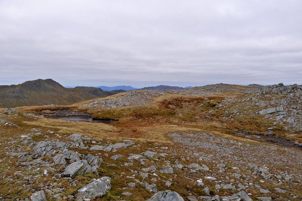 Summit plateau of Sgurr Gaorsaic