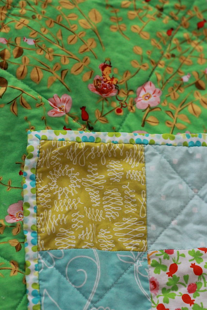 Little girl's quilt