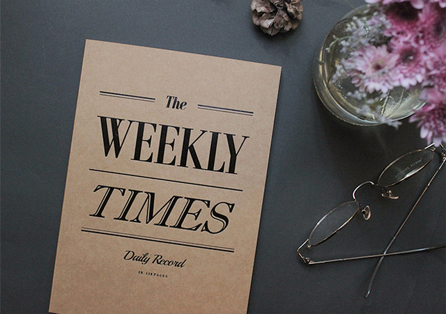 weekly times planner