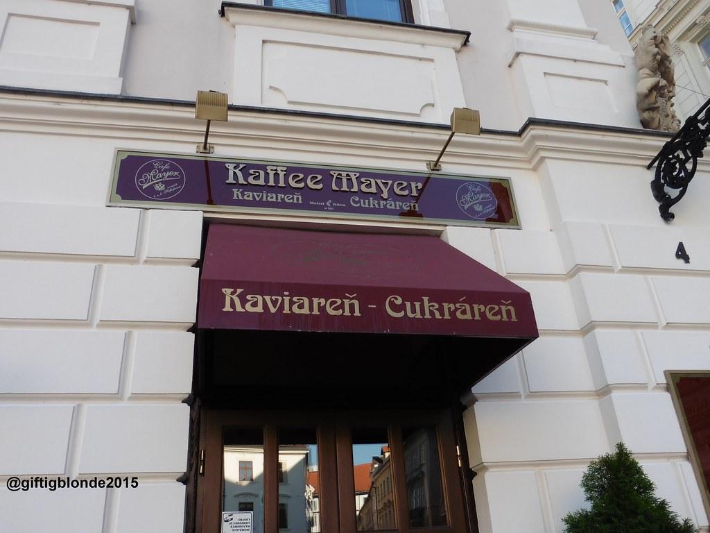 Bratislava, Cafe Mayer