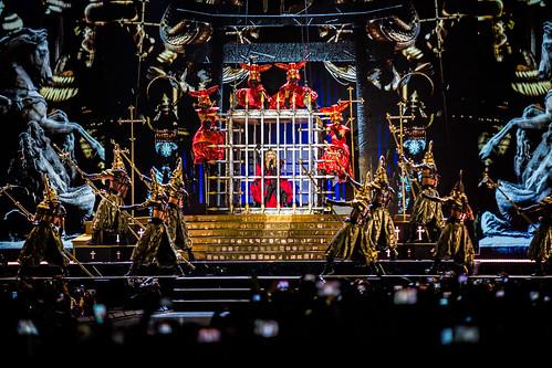 Madonna Ziggo Dome mashup foto - Madonna live at Ziggo Dome