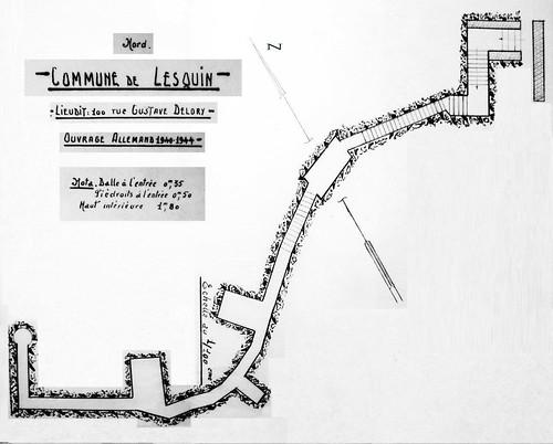 Le central téléphonique de Lille-Lesquin