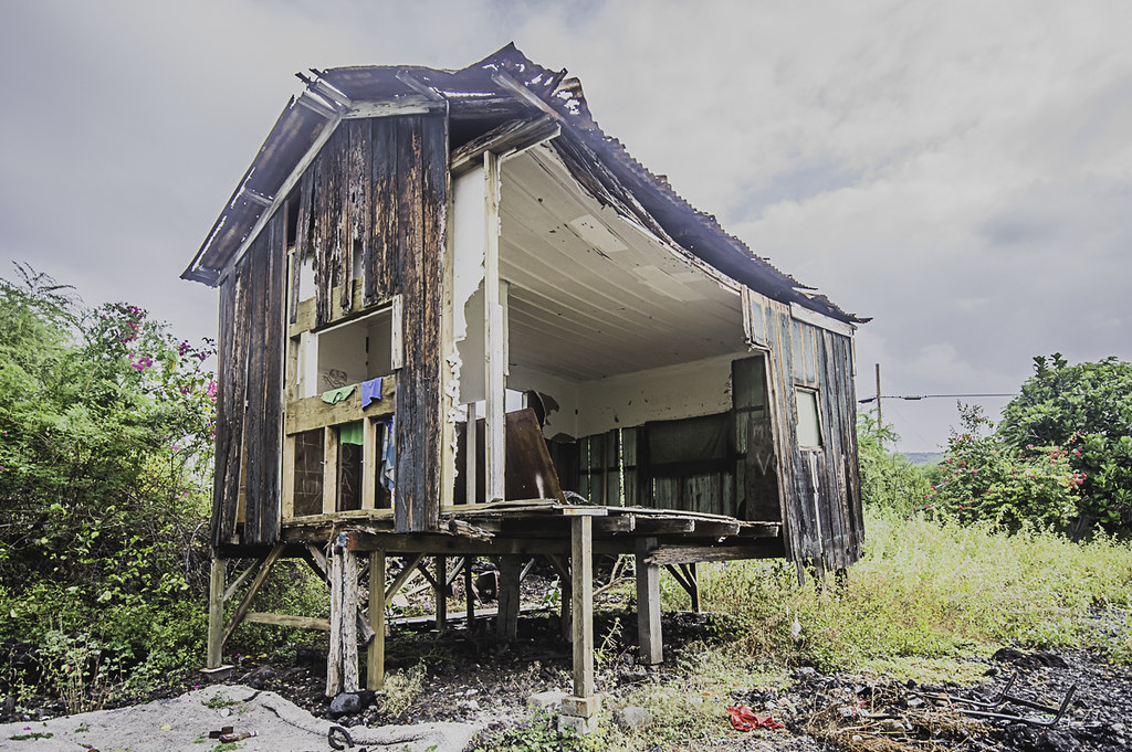 A shack in the village