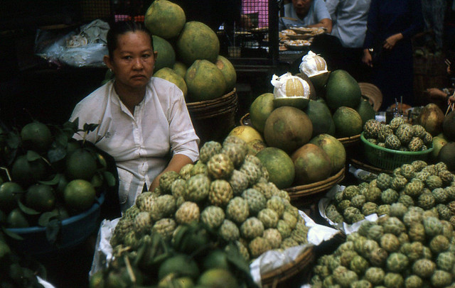 Pre-1975 SAIGON - Fruit Vendor
