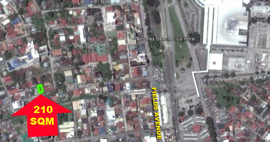 ON HOLD FOR SALE! OPEN FOR JOINT-VENTURE Commercial Lot for Sale Angeles City near Clark Fields Avenue Ref# 0000731