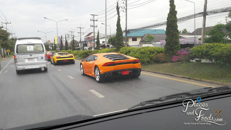 chiang rai lamborghini from the van