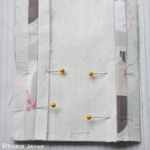 DIY bobby pin holder tutorial 6