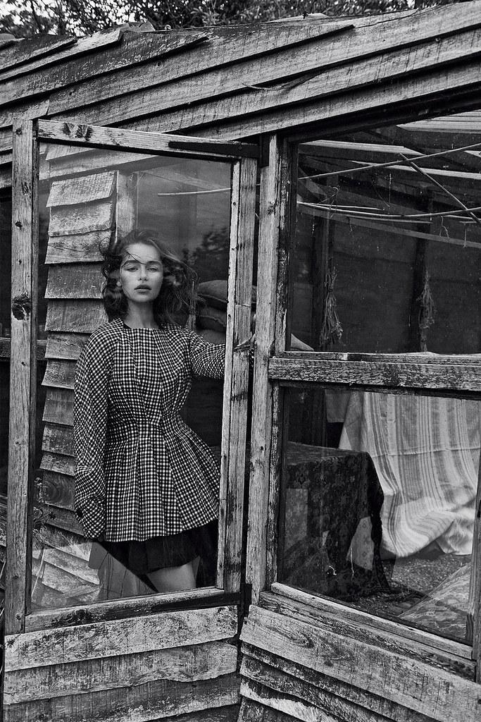 Эмилия Кларк — Фотосессия для «Dior» 2015 – 3