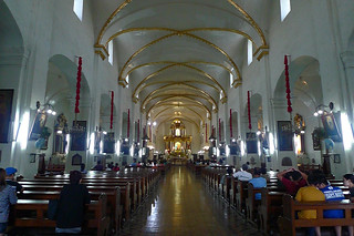 Vigan - Vigan Cathedral mass
