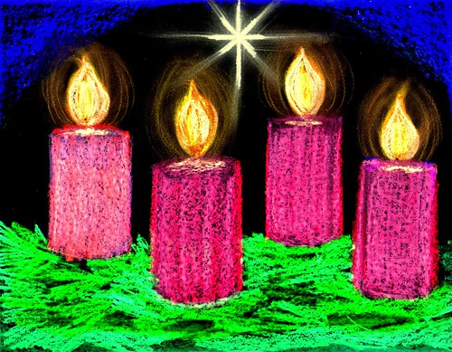 Advent Candles Christmas