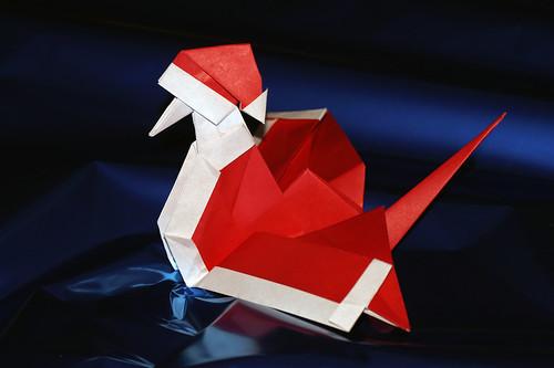Origami Santa Crane (Yuga Arisawa)
