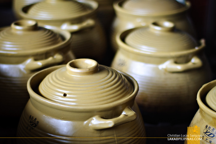 Cooking Clay Pots in Guangzhou China