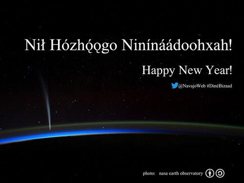 Nił Hózhǫ́ǫgo Ninínáádoohxah (Happy New Year) @NavajoWeb #DinéBizaad