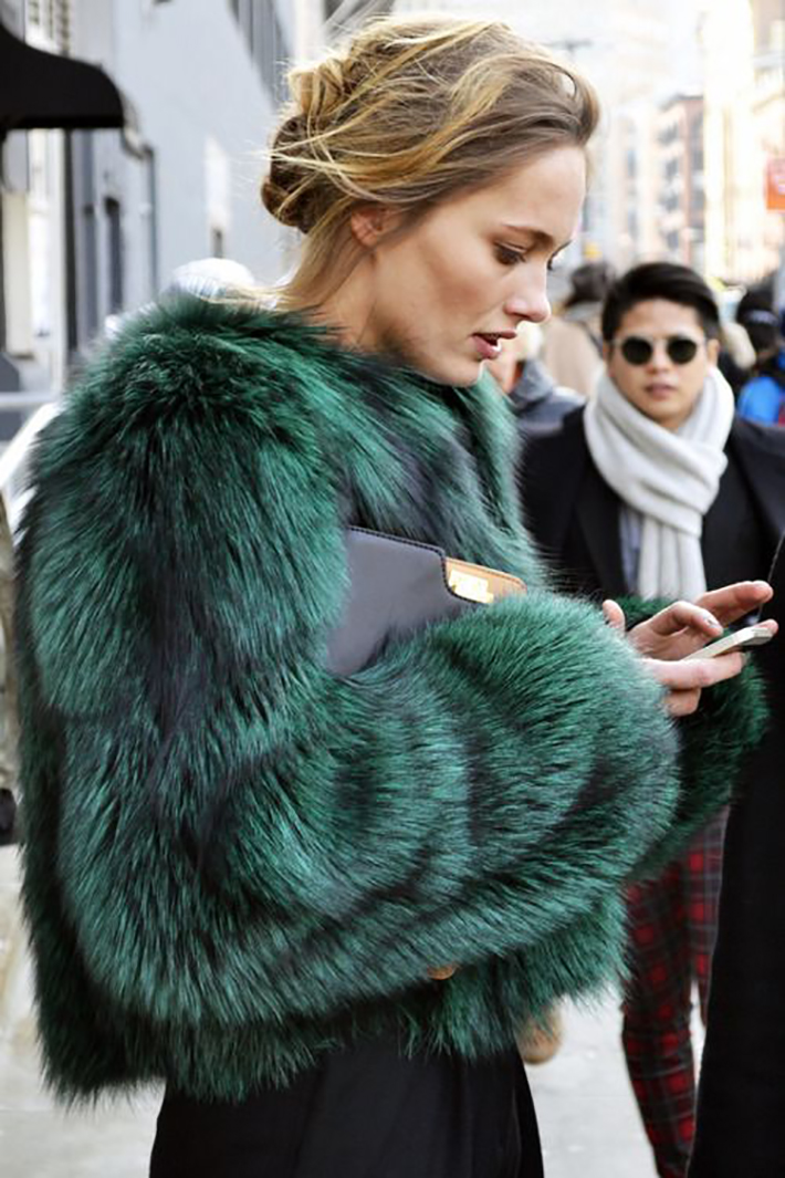 Faux Fur Coats Outfits style inspiration streetstyle14