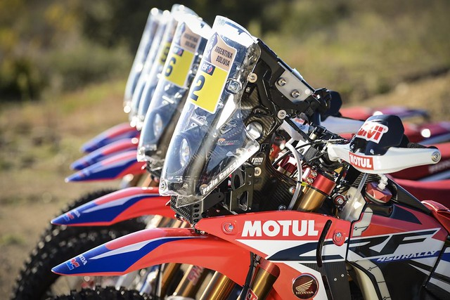 Team HRC DAKAR Honda CRF 450 RALLY