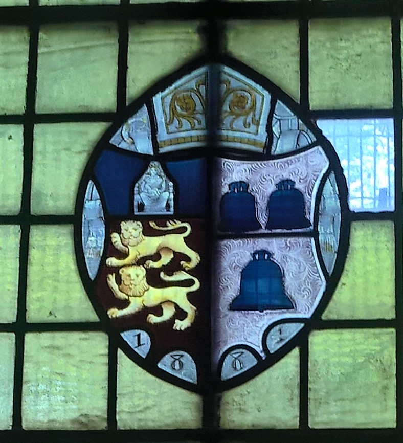 Coat of Arms in Crowle Church.