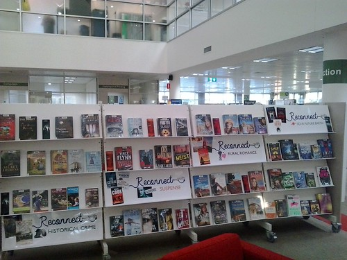 Reconnect with reading promotion at Hawkesbury Library