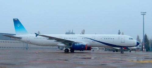 EP-AGB Islamic Republic of Iran Airbus A321-231