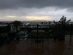 Shadows or reflections. #everettsunsets #pnwonderland #rainy #pnw #everett #sunset #brightspot #hatisland #deck #friluftsliv #clouds #gohawks