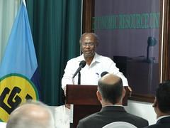 Dr. Kenrick Leslie, Executive Director, CCCCC