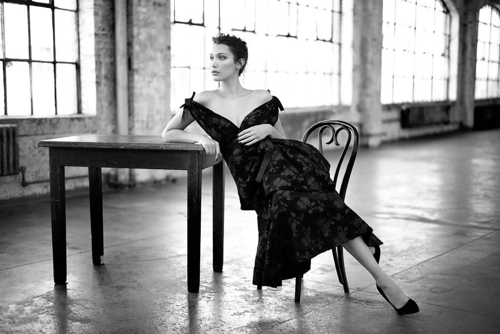 Белла Хадид — Фотосессия для «Harper's Bazaar» RU 2016 – 4