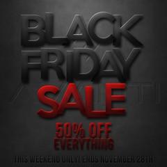 50% off BLACK FRIDAY SALE @ AVANTI!