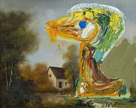 Le canard inquiétant. (De foruroligende ælling) 1959