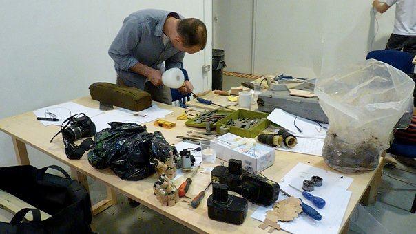 Shift/Work : Temporary Art Repair Workshop
