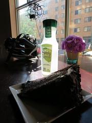 Limeade and cake