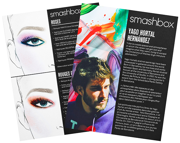 Smashbox ART. LOVE. COLOR. Master Class For Holiday 2015