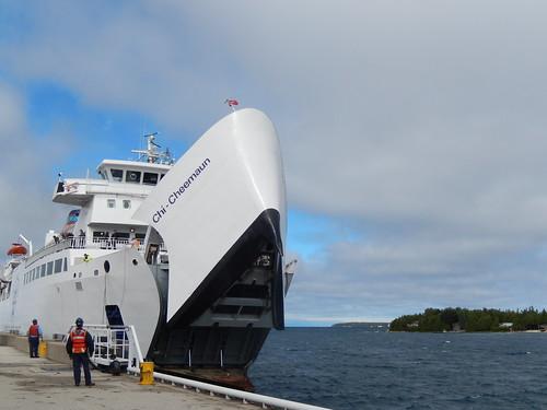 Ferry naar Manitoulin Island