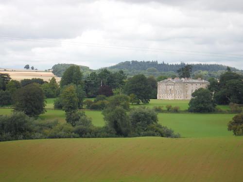New Wardour Castle from across Wardour Park