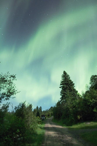 August Aurora - Isle Royale NP