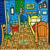 """El Cuarto de Van Gogh """"Van Gogh quarter"""" by Parodias de Pinturas Famosas"""