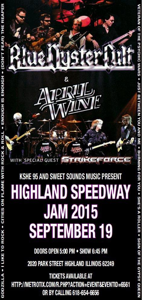 Highland Speedway Jam 9-19-15