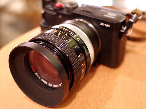 CANON FD 55mm 1.2