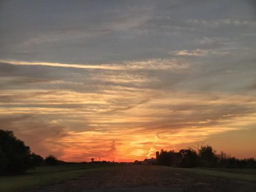 autumn sunset iphone