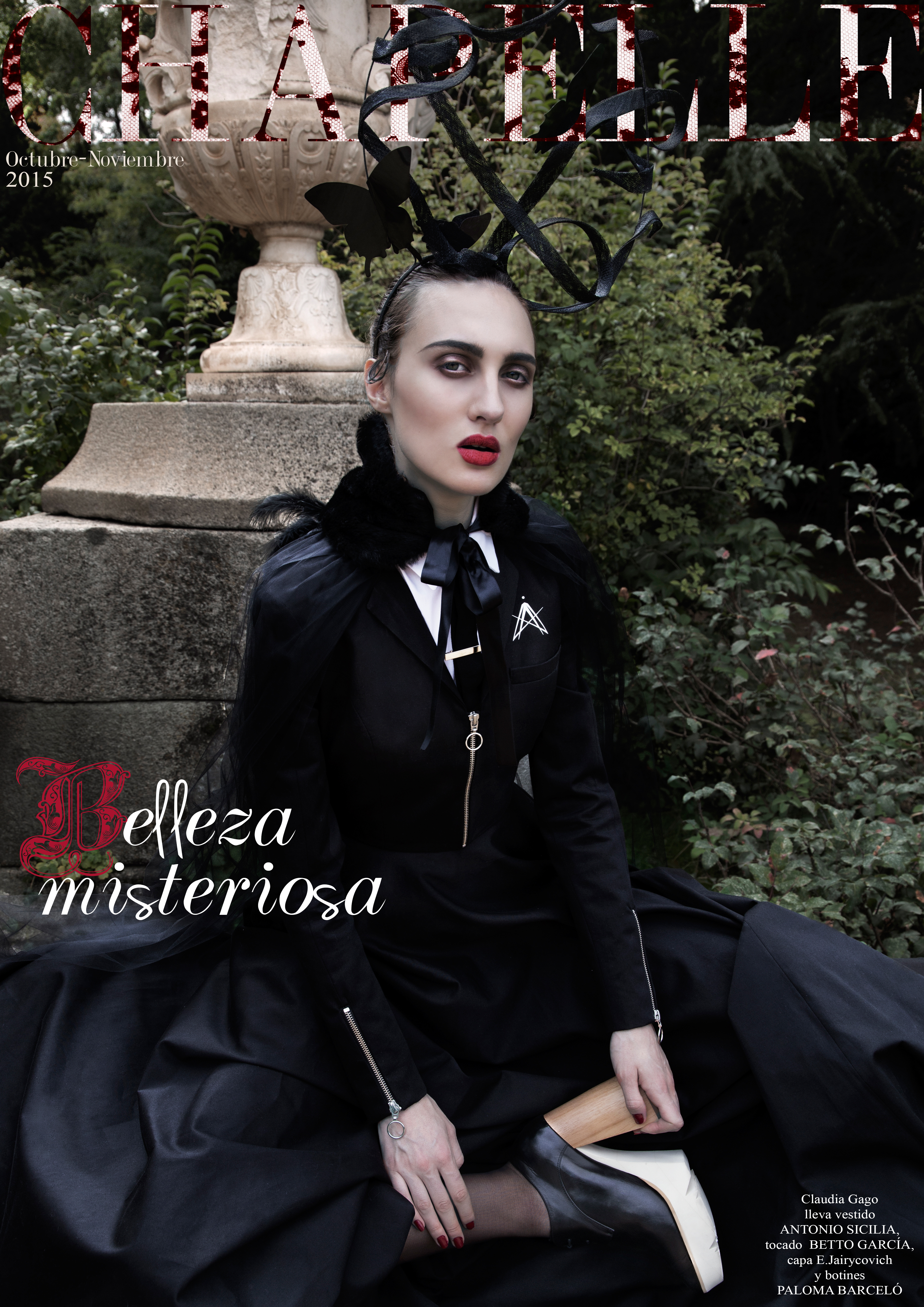 chapelle magazine valencia fashion bloggers spain revista moda diseño emergente barreira VLC, revistamoda valenciana numero online issue mysterious beauty