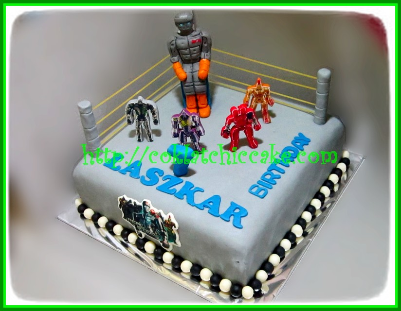 Cake Real Steel