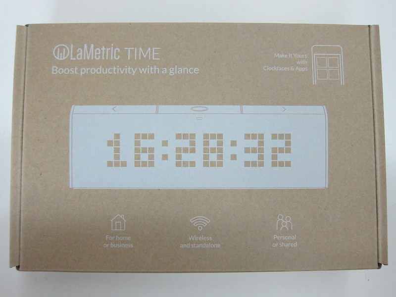 LaMetric Time - Box Front