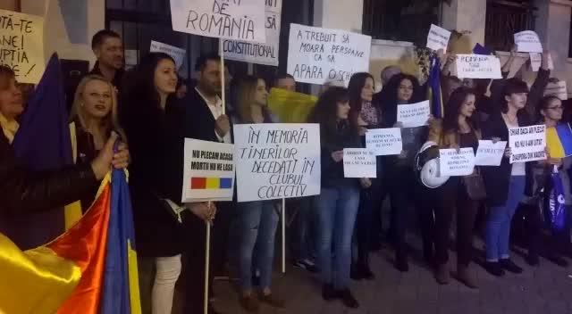 protest Madrid 6 noiembrie 2015
